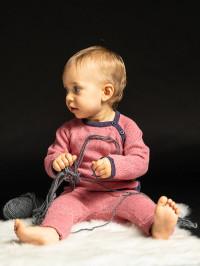 Pantaloni tricotaţi bebeluşi Pablo Rose
