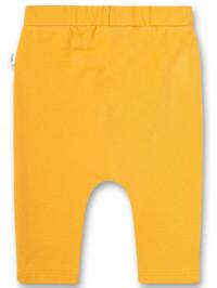 Pantaloni unisex Sanetta Pure, galben