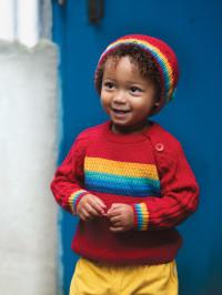 Pulover tricotat copii Caleb