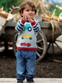 Pulover tricotat bebe Kal