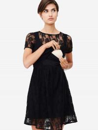 Rochie alăptare Zissi, dantelă neagră
