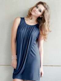 Rochie sarcină şi alăptare Goddess bleumarin
