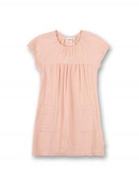 Rochiţă din muselină Sanetta Pure, roz