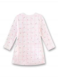Rochiţă elegantă bebe, imprimeu cu flori roz