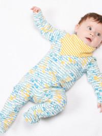 Salopetă pijama bebe Fish Explorer