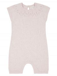 Salopetă scurtă tricotată Leha Rose