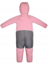 Salopetă softshell Explore All, pink melange