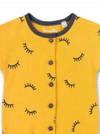 Salopetă vară galbenă Sanetta Pure