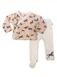 Set bluză și pantaloni bebe Wildhorses
