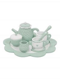 Set din lemn pentru ceai Mint