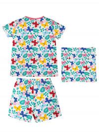 Set pijama şi husă pernă Mini Butterflies