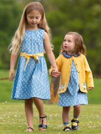 Set tricou și rochiţă bebe cu Pescăruși