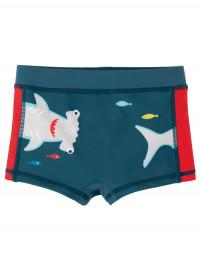 Slip băieţi Shark, protecţie UPF 50+