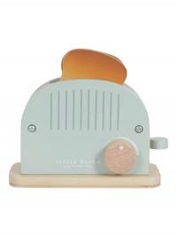 Toaster pâine din lemn, cu accesorii