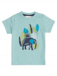 Tricou albastru Ibon Elefant