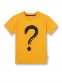 Tricou bumbac organic băieţi, galben