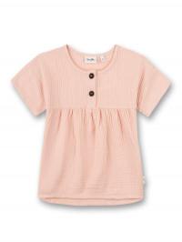 Tricou muselină roz Sanetta Pure