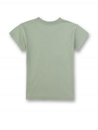 Tricou verde casual Sanetta Pure