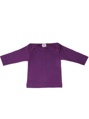 Bluză lână şi mătase, mov