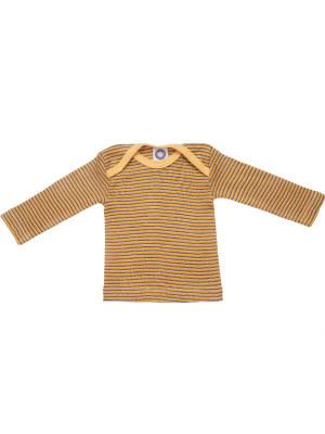 Bluză lână şi mătase  Yellow Plum