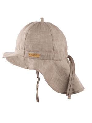 Pălărie ajustabilă din in Moon Rock