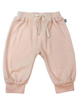 Pantaloni bebe harem Shell Pink