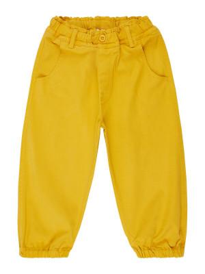 Pantaloni căptuşiţi twill Kaito Mustard