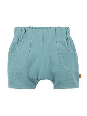 Pantaloni scurţi muselină bebe Minty Ice