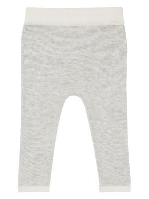 Pantaloni tricotaţi bebe Pablo Grey