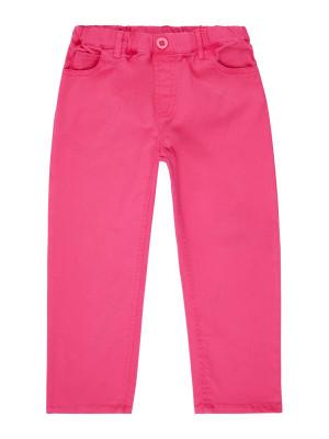 Pantaloni twill fete Dea Pink