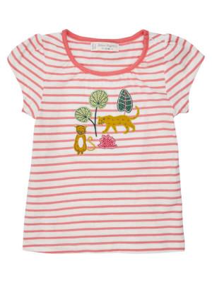 Tricou fetiţe Gada roz